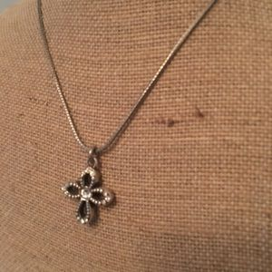 EUC Brighton cross necklace